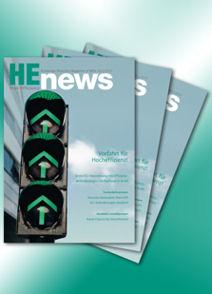 """Neue Ausgabe der """"HEnews"""" von Wilo"""