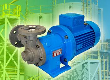 Sealless Mag-Drive Pumps Best For Aggressive Liquids