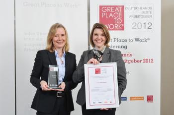 Grundfos: Auszeichnung als einer der 'Besten Arbeitgeber' Deutschlands