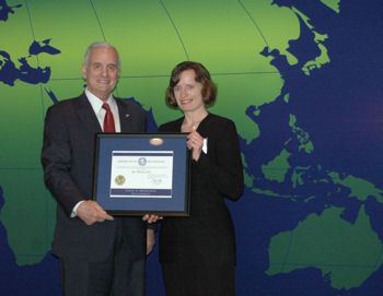 Jet Edge Honored with Governor's International Trade Award