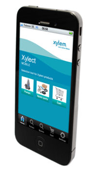 Xylem Launches New Product Selection Mobile App