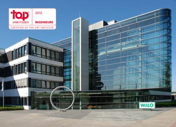 Wilo erneut Top-Arbeitgeber für Ingenieure