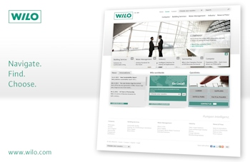 New Wilo Website Launched
