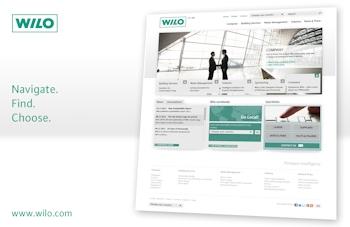 Neue Wilo-Website gelauncht