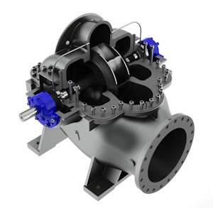 New Range of  Axially Split Double Entry Pumps from SPX