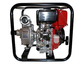 Schmutz- und Klarwasserpumpen: Dieselversion als Alternative