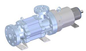 New Sero High Pressure Side Channel Pump