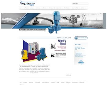 Neptune Unveils New Website