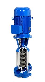 Xylem erweitert energieeffiziente Baureihe vertikaler Mehrstufenpumpen