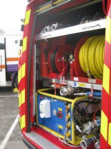 High Pressure 'Misting' Pumps for Mobile Fire Suppression System