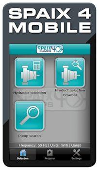 Pump Selection to Go: Mobile App for Spaix Pump Selection Program