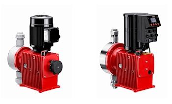 Neue Modelle der Motor-Membrandosierpumpen-Reihe Memdos