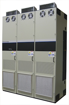 Erweiterter Leistungsbereich für Allen-Bradley Frequenzumrichter
