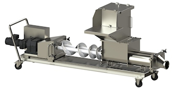 On the Fast Track to Chocolate Pralines with Knoll Double Screw Pump