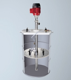 Drum Emptying System for Transferring Higher-viscosity Materials