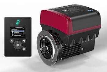 Neue Motoren-Baureihe mit integriertem Frequenzumformer für Pumpen