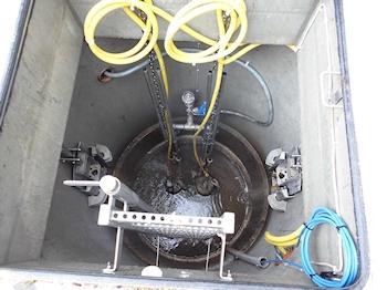 Druckentwässerung für Abwässer mit härtestem Schneidwerk