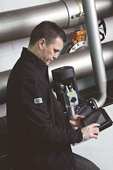 Neues Grundfos-Tool für den Energie-Check vor Ort