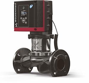 Neue Inline-Pumpe für Umwälzanlagen mit konstantem oder schwach variablem Förderstrom