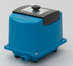 Sauerstoffeintrag mit Membrankompressoren: Neue Beckenbelüfter aus Japan