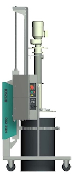 Revised Dosing and Emptying Systems Save Space and Reduce Costs