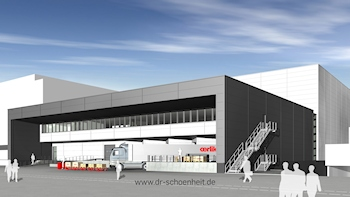 New Oerlikon Leybold Vacuum Logistics Centre at the Cologne Site