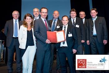 Grundfos Österreich als Arbeitgeber geschätzt