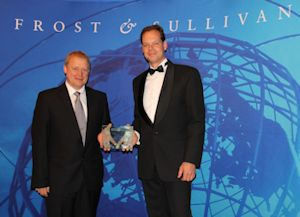 Verder Awarded by Frost & Sullivan for Product Differentiation Excellence