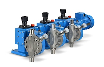 New Multiplex Pump for Volume Flows Up to 1800 l/h
