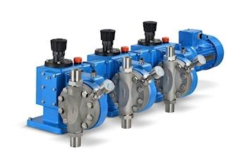 Neue Mehrfachpumpe für Volumenströme bis 1.800 l/h