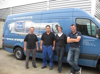 Pumpenfabrik Wangen baut Kundenservice für Deutschland aus