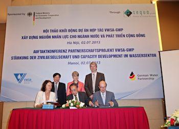 Successful German-Vietnamese Water Cooperation