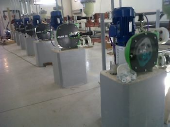 Verderflex Hose Pump Offers Easy Maintenance to Water Treatment Plant