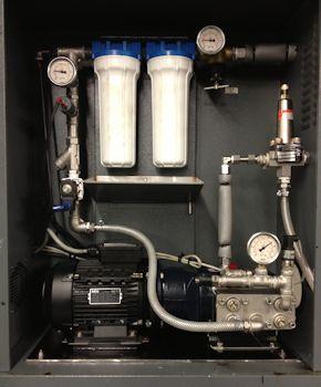 Pumps Solve Moisture Control Problem in Textiles Process