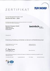 TÜV-Zertifikat nach erfolgreichem Überprüfungsaudit