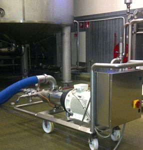Jung Process Systems bietet Hyghspin Pumpe jetzt auch als komplett vormontierte Einheit