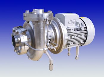 CSF Aseptic Hygienic Pumps With Steam Protection Barrier Ideal For Sterile Products