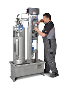 Gasstromgesteuerte Membranpumpen sorgen für optimale Dosierung des Odormittels