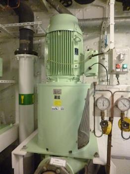 Kreuzfahrtschiff EUROPA 2 mit Pumpen von KSB ausgerüstet