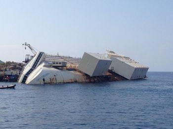 Valves Help Salvage the Costa Concordia