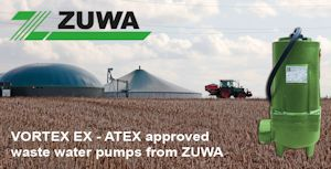 ATEX Approved Waste Water Pumps from Zuwa