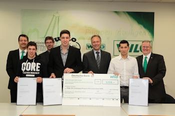 Wilo-Förderpreis an Sieger aus NRW vergeben