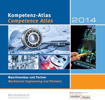"""Elfte Ausgabe des Kompetenz-Atlas """"Maschinenbau und Partner"""""""