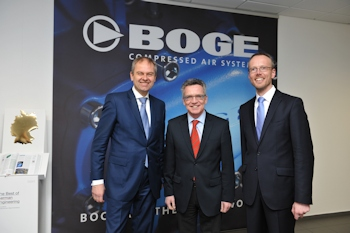 Boge eröffnet neues Werk in Sachsen