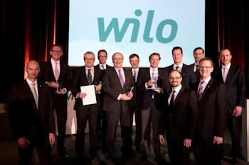 """Erster globaler """"Wilo Group Suppliers' Day 2014"""": Wilo zeichnet beste Lieferanten aus"""