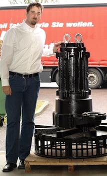 Tsurumi-Pumpentechnik: Neuheit aus Japan eingeflogen