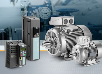 Siemens Presents Simotics Motors for Operation with Sinamics Frequency Converters