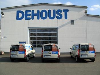 Dehoust stellt neue Servicefahrzeuge in den Dienst