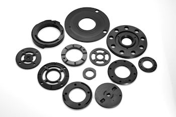 Metallized Carbon Corporation Vanes, Rotors, and End Plates for Pumps Pumping Both Liquids and Gases