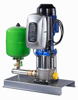 New Pressure Booster System